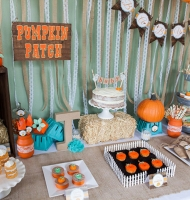 Rustic Little Pumpkin Theme