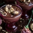 Kahlua Chocolate Pudding with Oatmeal Chocolate Chip Cookies