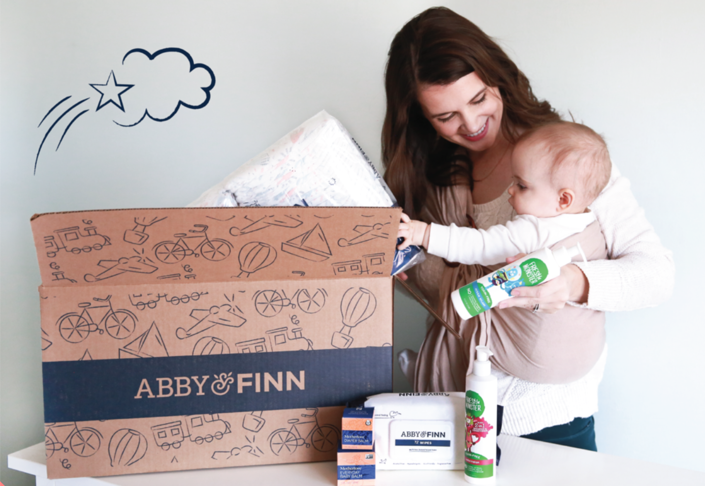Abby&Finn Nappy Subscription