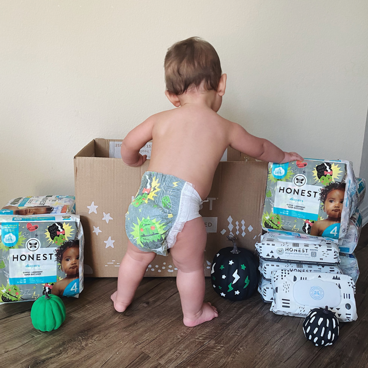 The Honest Company Nappys and Wipes Subscription