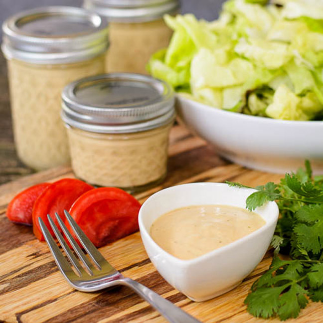 Homemade Chipotle Ranch Dressing