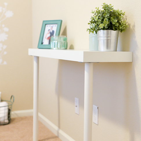 Narrow Side Table from Hey, Let's Make Stuff