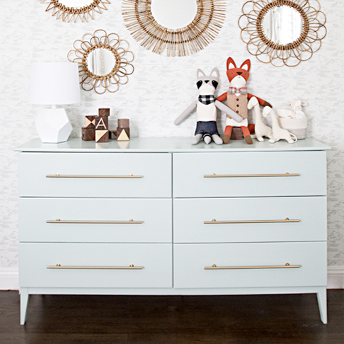 Modern Baby Dresser and Changing Table from Stories