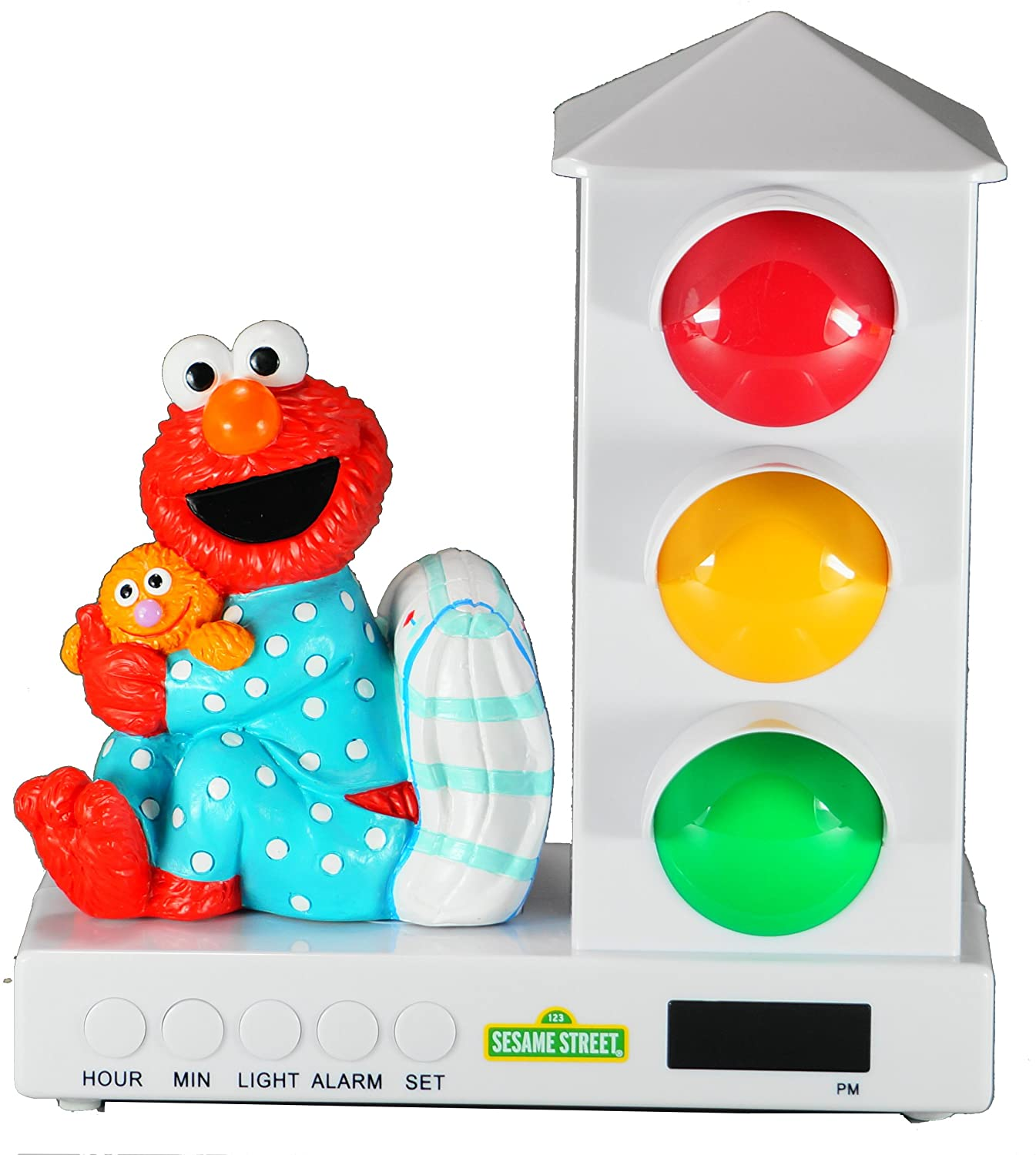 It's About Time Stoplight Sleep Enhancing Alarm Clock