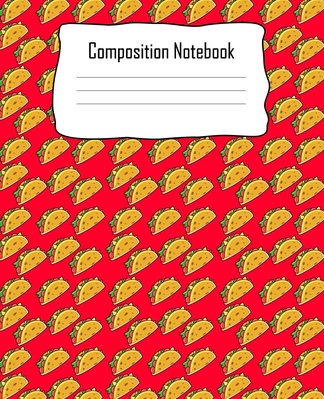 Taco Composition Notebook