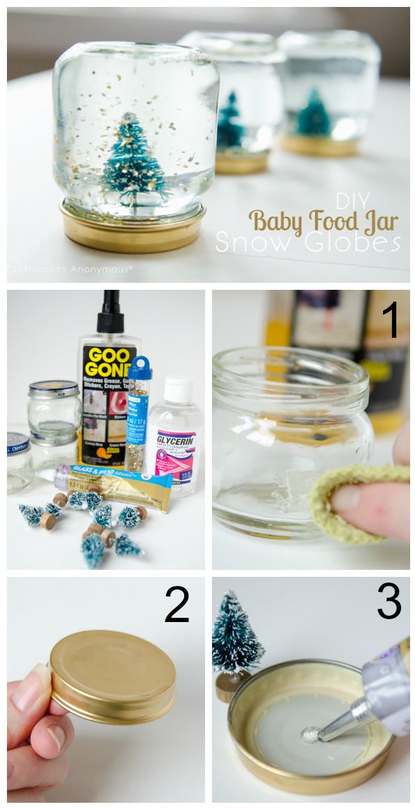 31 Genius Baby Food Jar Crafts Reuse Baby Food Jars