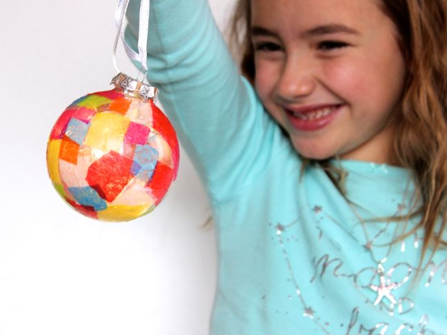 DIY Stained Glass Ornament