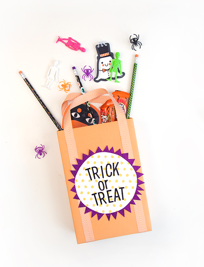Upcycled Cereal Box Treat Bag