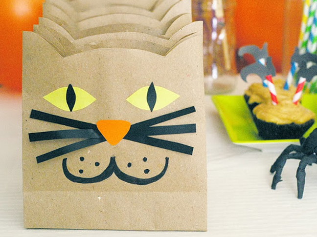 Brown Paper Cats
