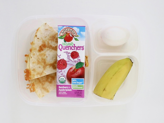 Quesadilla Toddler Lunch