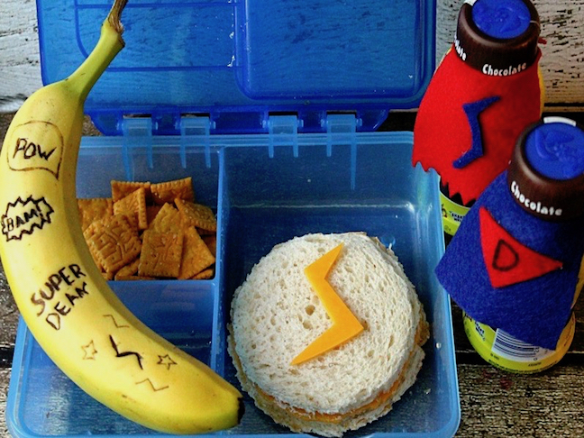 Superhero Toddler Lunch