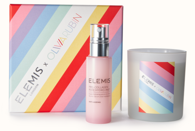 Elemis x Olivia Rubin Rose & Relaxation Mother's Day Duo