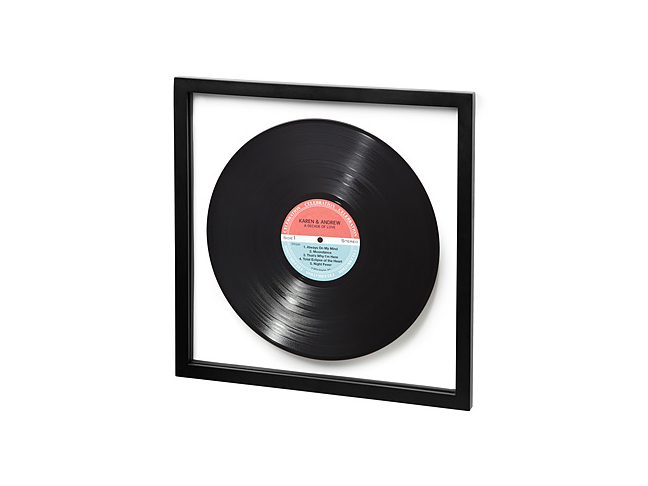 Personalized LP Record