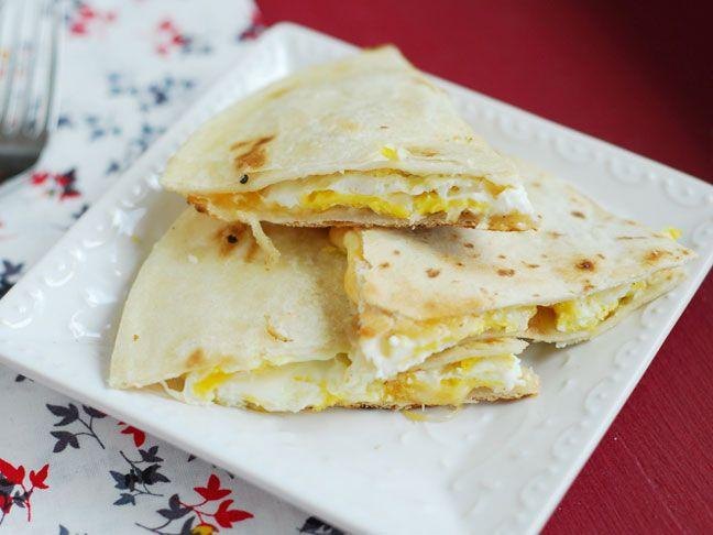 Quick and Easy Breakfast Quesadilla