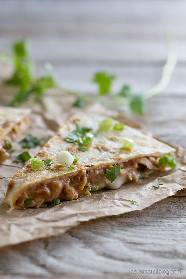 Rio Grande Chicken Quesadilla