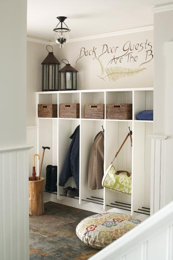 Mudroom entrance