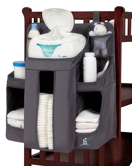 Hiccapop Nursery Organizer and Diaper Caddy