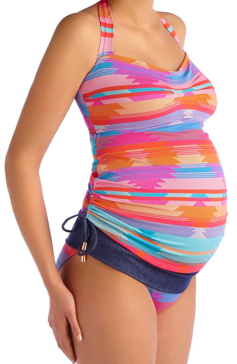 Two-Piece Tankini Maternity Swimmers ($105)