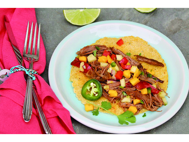 Mexican Flank Steak Tacos