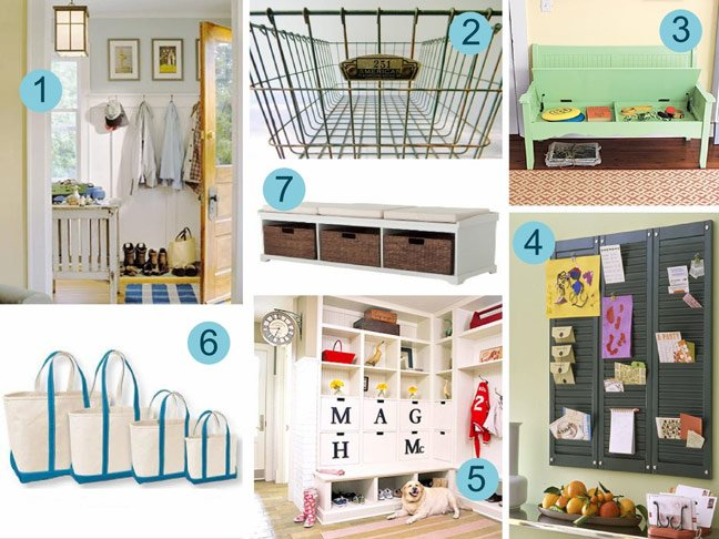 Mudroom Organisation Ideas