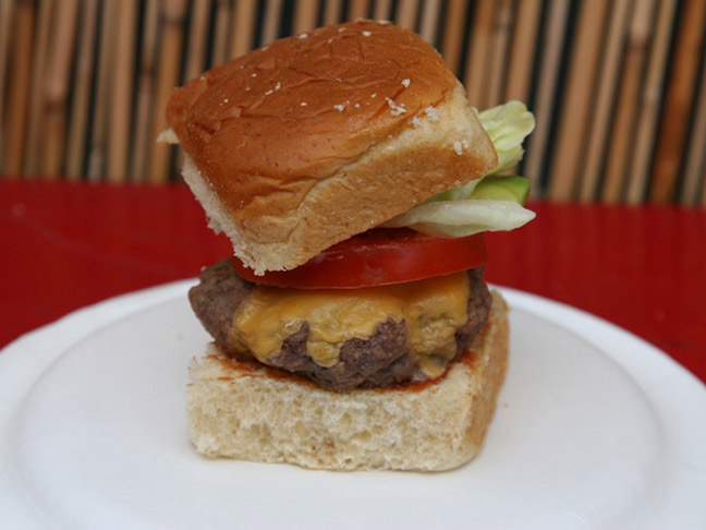 Build your Own Mini Cheeseburger