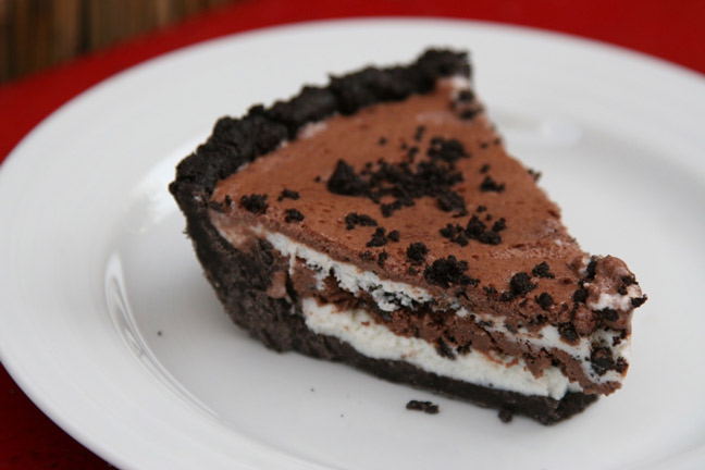 Chocolate and Vanilla Mud Pie