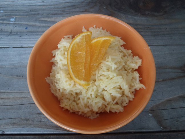 Orange Basmati Rice