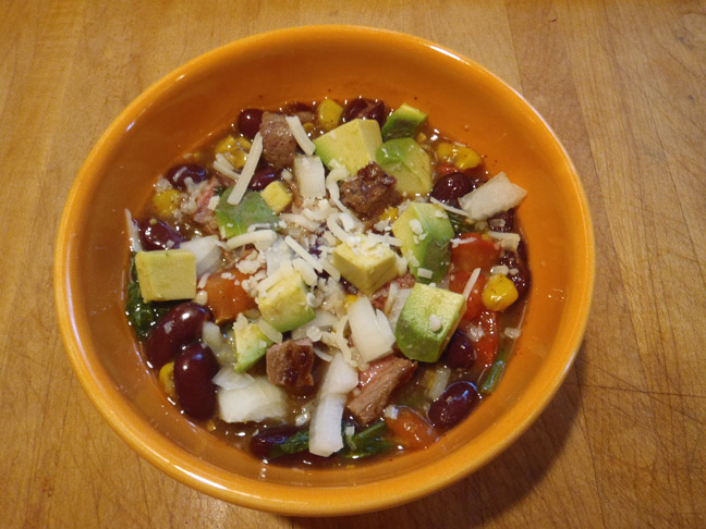 Grilled Steak Chili