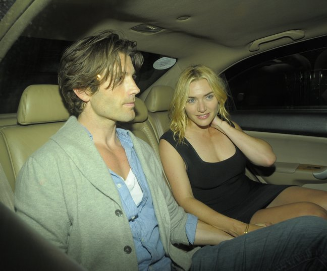 Kate Winslet Goes Public With Her New Boyfriend