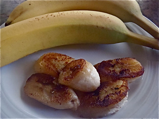 Cinnamon Fried Bananas