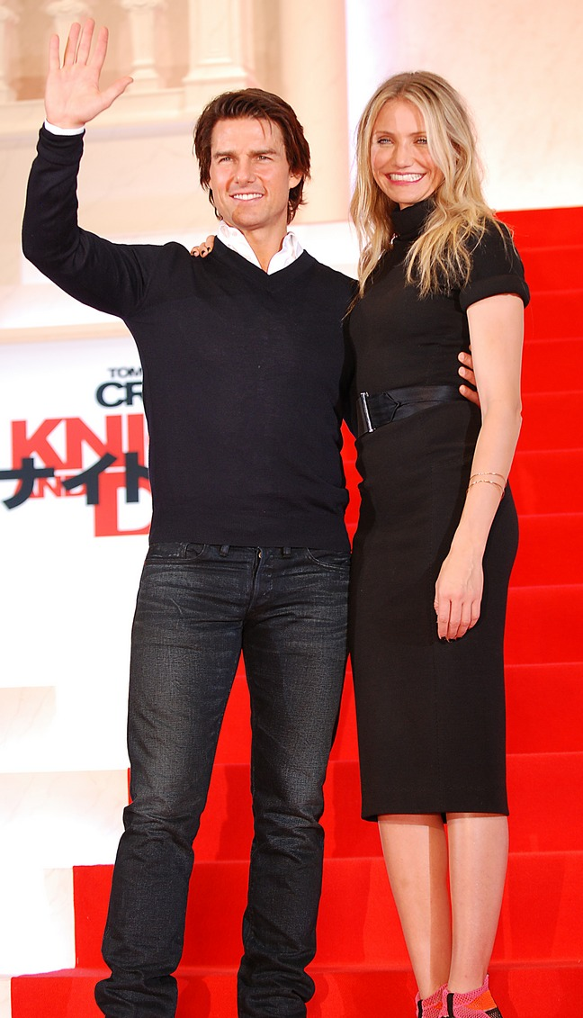 Tom Cruise And Cameron Diaz In Japan For Quot Knight And Day Quot Premiere