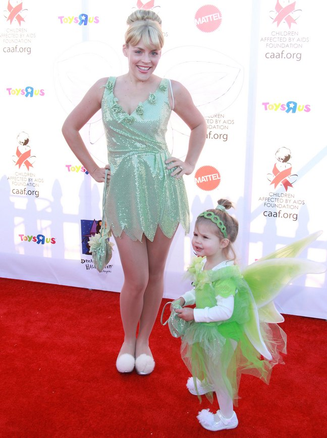 Busy Philipps, fairy costume, tinkerbell, Birdie