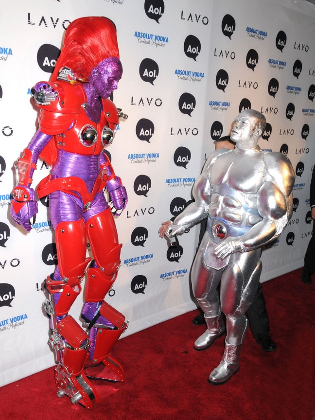 Heidi Klum, transformer costume, halloween costume, Seal