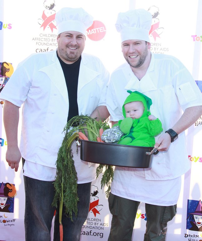 Scott Masterson, chef costume, Bill Horn, chef costume